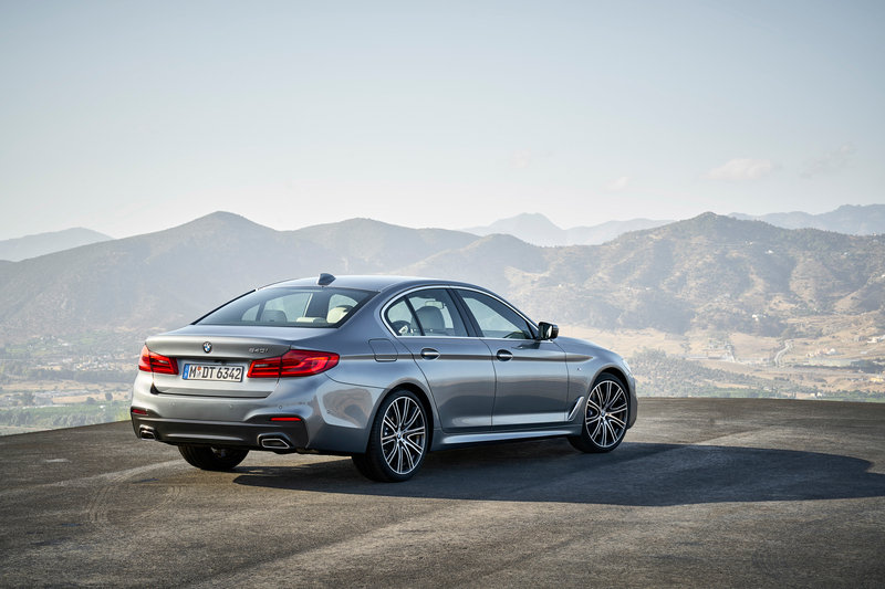 2017 BMW 5 Series Unveiled