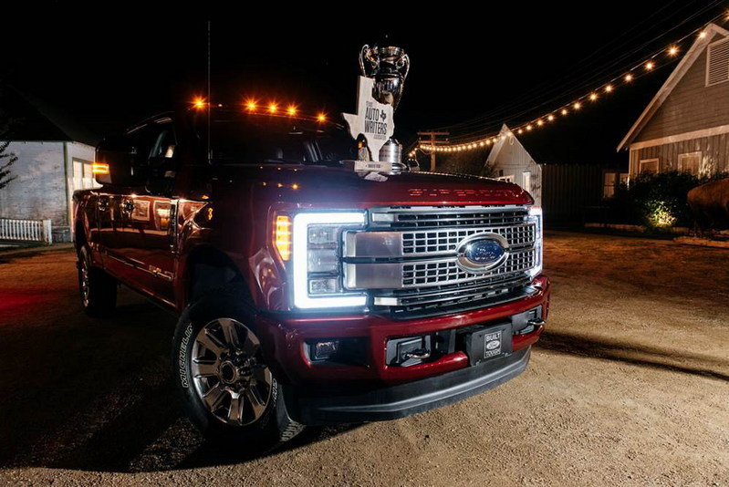 2017 Ford Super Duty Named Truck of Texas