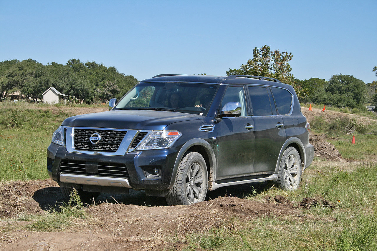 2017 nissan armada named suv of texas picture 691859. Black Bedroom Furniture Sets. Home Design Ideas