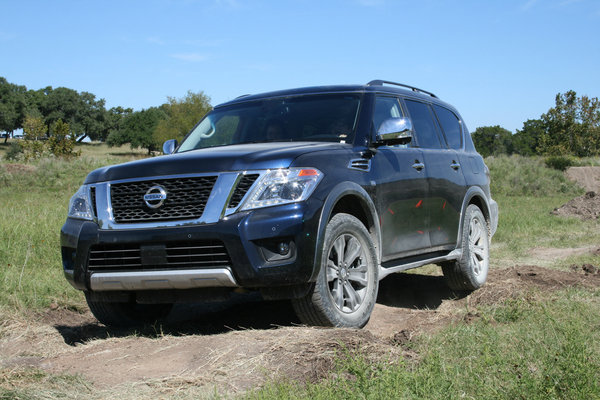 2017 nissan armada named suv of texas truck news top speed. Black Bedroom Furniture Sets. Home Design Ideas