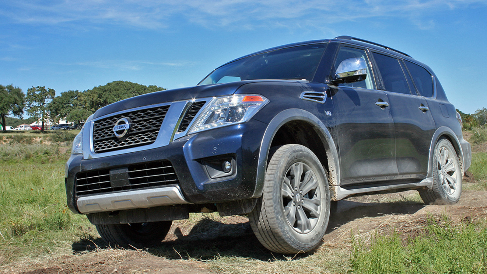 2017 nissan armada named suv of texas news top speed. Black Bedroom Furniture Sets. Home Design Ideas