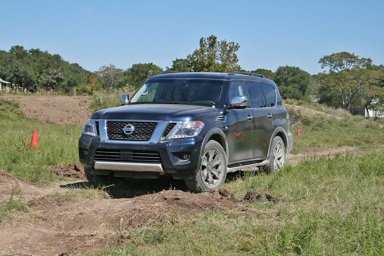 2017 nissan armada named suv of texas picture 691858. Black Bedroom Furniture Sets. Home Design Ideas