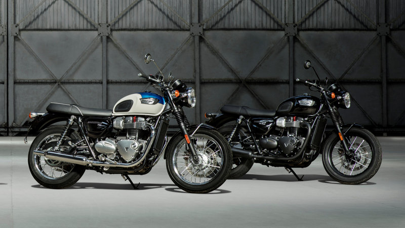 Triumph Shows Off New Rides At INTERMOT