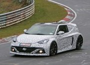 Hyundai's Mid-Engined RM16 Concept Caught Testing on the 'Ring - image 692722