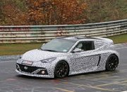Hyundai's Mid-Engined RM16 Concept Caught Testing on the 'Ring - image 692723