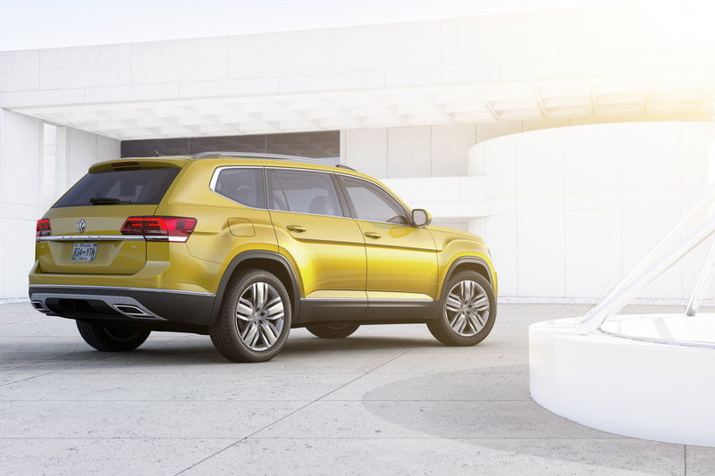 2018 Volkswagen Atlas High Resolution Exterior - image 693388