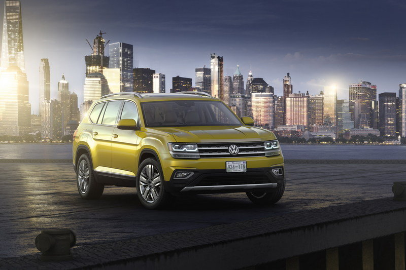 2018 Volkswagen Atlas High Resolution Exterior - image 693391