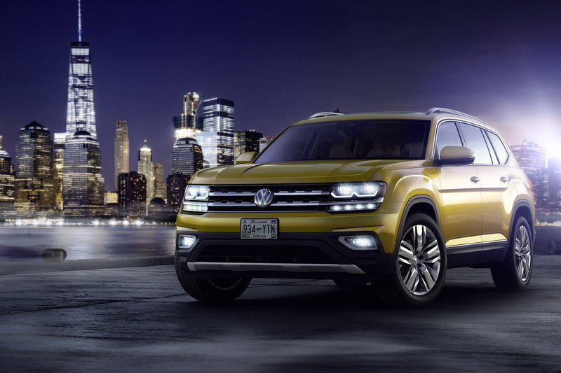 2018 Volkswagen Atlas High Resolution Exterior - image 693392