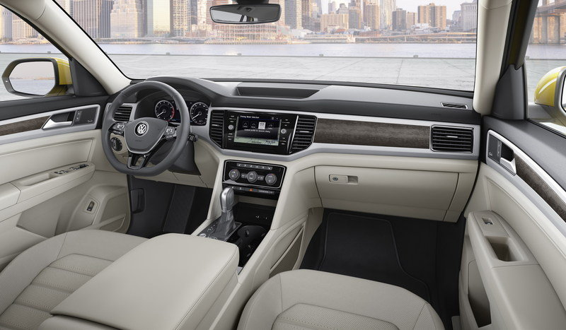 2018 Volkswagen Atlas High Resolution Interior - image 693401