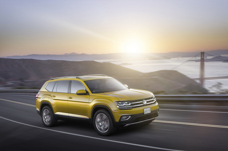 2018 Volkswagen Atlas High Resolution Exterior - image 693385