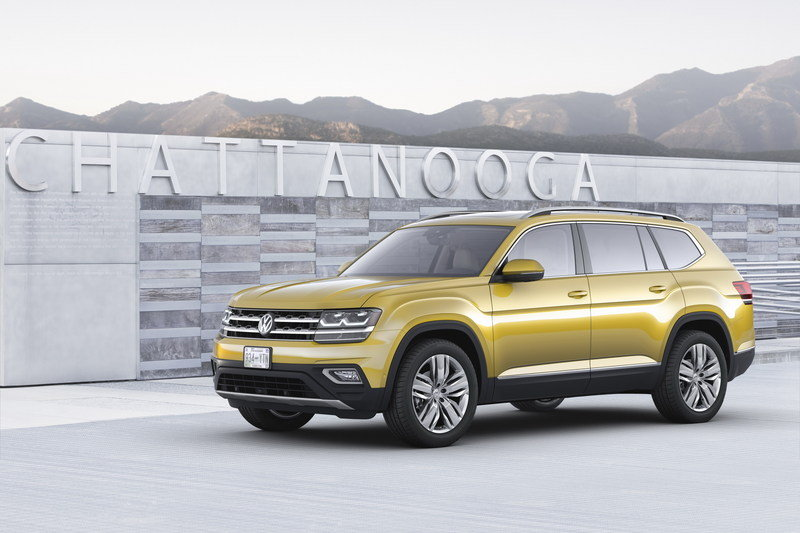 2018 Volkswagen Atlas High Resolution Exterior - image 693387