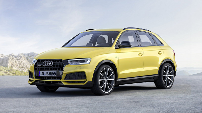 2017 Audi Q3 Black Edition | Top Speed