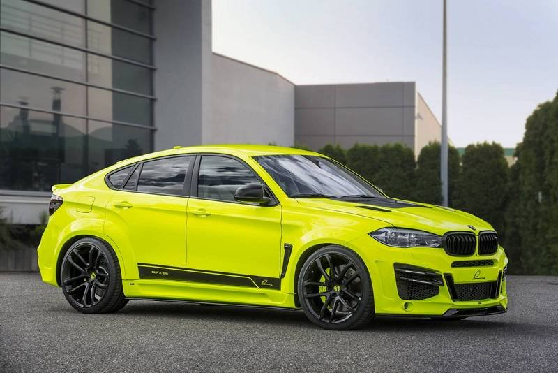 2016 BMW X6 M by Lumma Design