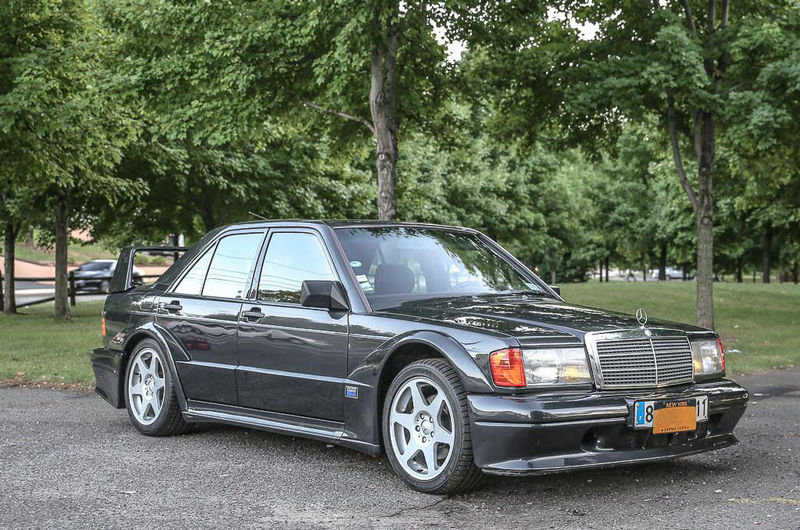 Car for Sale: Rare 1990 Mercedes-Benz 190-Series EVO 2 No. 55 of 500