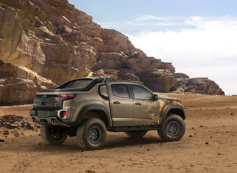 2016 Chevrolet Colorado ZH2