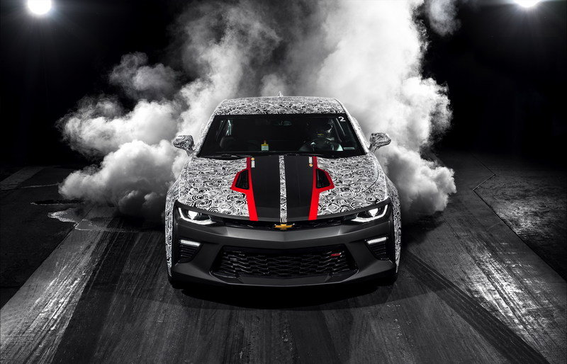 Chevrolet Launches Camaro SS Drag Race Development Program High Resolution Exterior - image 693636
