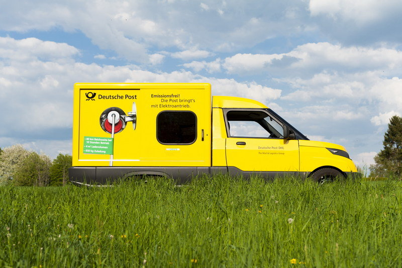 DHL Kicks VW While it's Down; Builds its own Electric Delivery Van High Resolution Exterior - image 691740