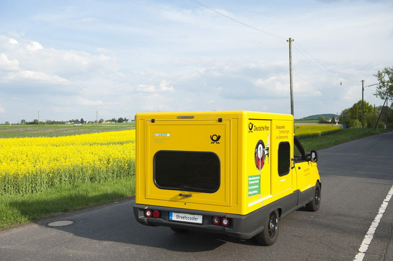 DHL Kicks VW While it's Down; Builds its own Electric Delivery Van High Resolution Exterior - image 691741