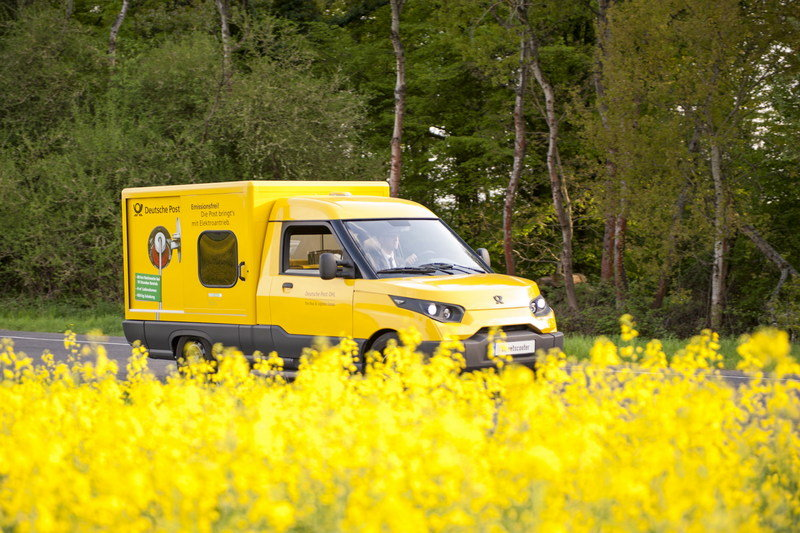 DHL Kicks VW While it's Down; Builds its own Electric Delivery Van High Resolution Exterior - image 691742
