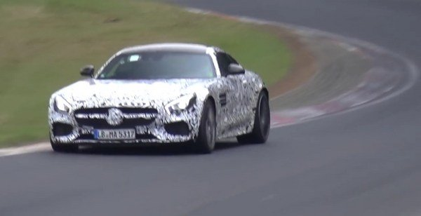 Did Someone Just Catch the Mercedes-AMG GT Black Series on the Nurburgring?