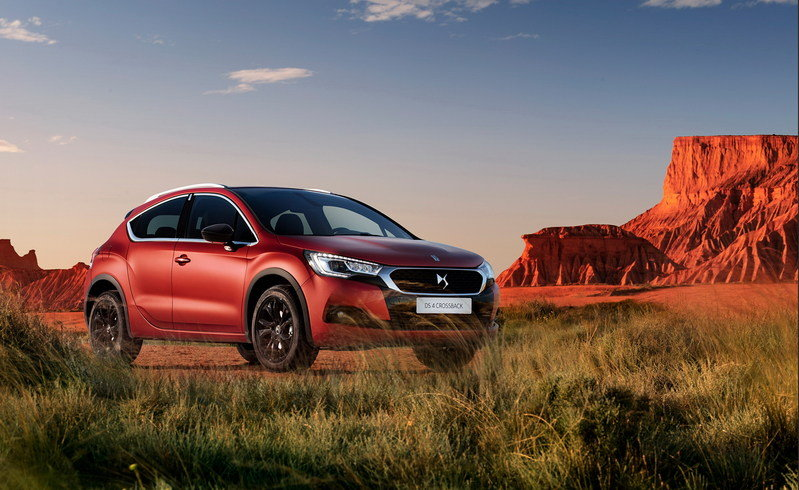 2016 DS 4 Crossback Terre Rouge Limited Edition