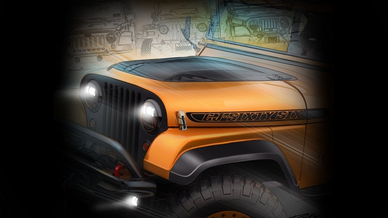 FCA Teases SEMA Lineup, Includes Power Wagon & Wrangler