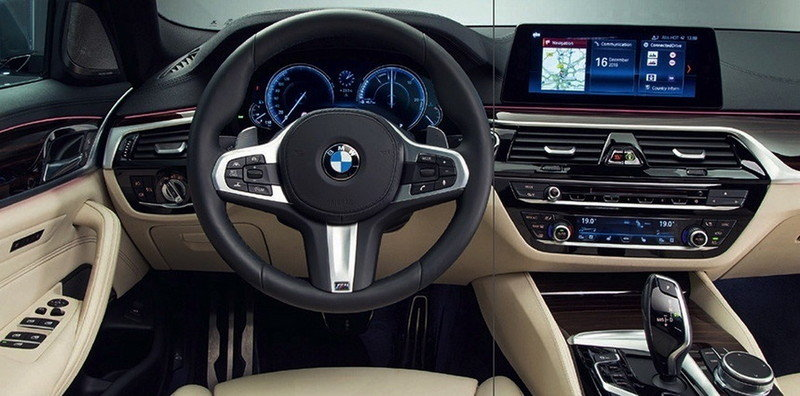 New BMW 5 Series Revealed in Leaked Photos Interior - image 691715