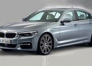 New BMW 5 Series Revealed in Leaked Photos - image 691712