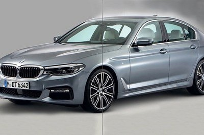 New BMW 5 Series Revealed in Leaked Photos
