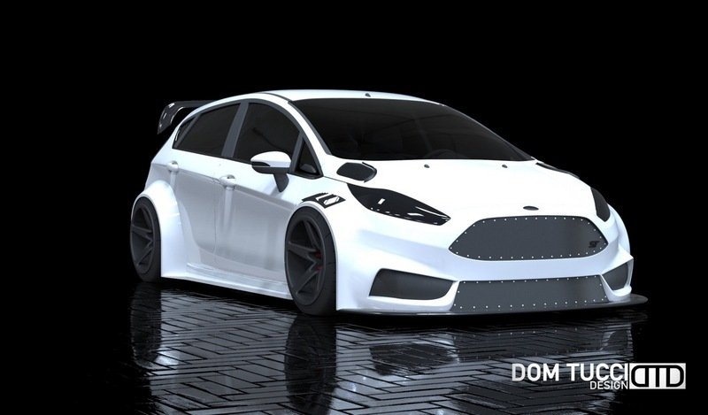 2016 Ford Fiesta ST by Tucci Hot Rods Exterior Computer Renderings and Photoshop - image 693208