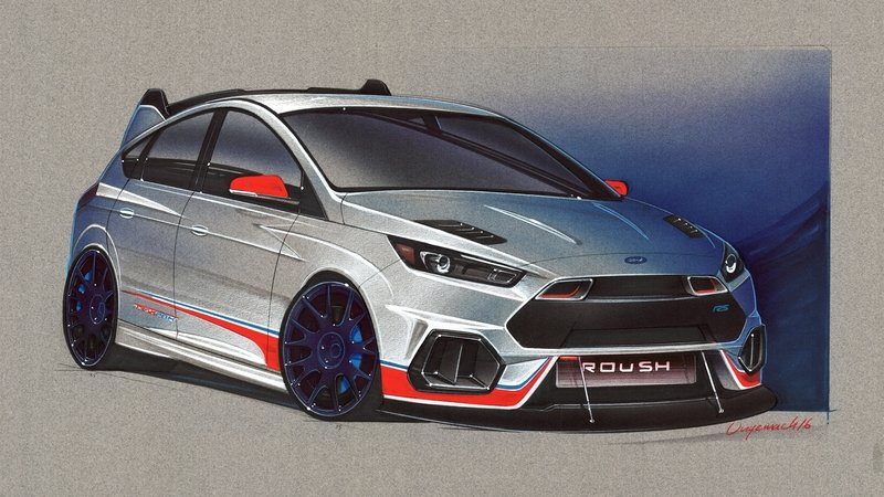 2016 Ford Focus RS by Roush Performance Exterior Computer Renderings and Photoshop - image 693301