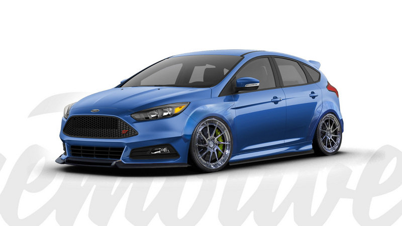 2016 Ford Focus ST by Cinemotive Media Exterior Computer Renderings and Photoshop - image 693226