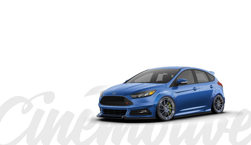 2016 Ford Focus ST by Cinemotive Media Exterior Computer Renderings and Photoshop - image 693209