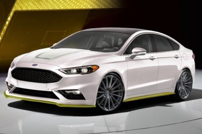 2017 Ford Fusion Sport Ballistic Concept by Webasto Thermo and Comfort North America