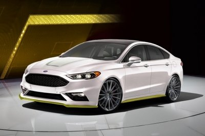 Ford Fusion Sport Ballistic Concept By Webasto Thermo And Comfort North America Image