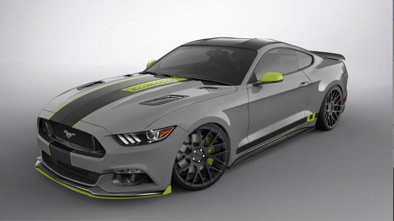 2017 Ford Mustang Fastback by CJ Pony Parts