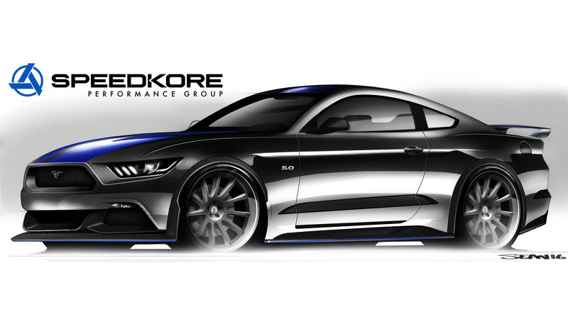 2017 Ford Mustang Fastback by SpeedKore Performance Group