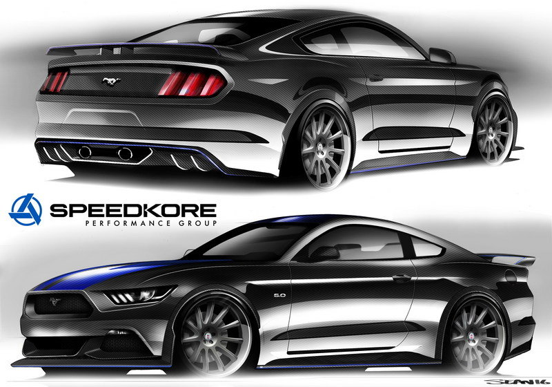 2017 Ford Mustang Fastback by SpeedKore Performance Group Exterior Computer Renderings and Photoshop - image 692638