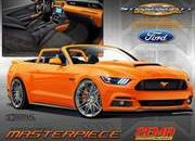 2017 Ford Mustang Pearl Candy Orange Concept - image 692633