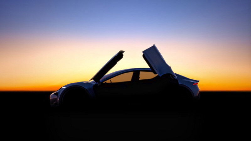 Henrik Fisker Teases New Car With Butterfly Doors