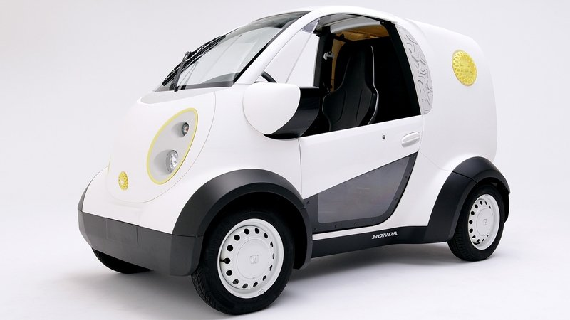 Honda Unveils 3D Printed Micro Commuter Vehicle