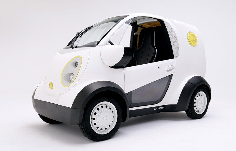 Honda Unveils 3D Printed Micro Commuter Vehicle High Resolution Exterior - image 691728
