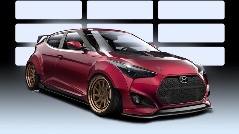 2016 Hyundai Veloster Concept By Gurnade High Resolution Exterior - image 692202