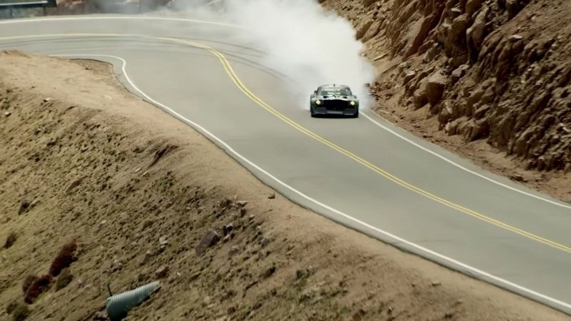 "Ken Block Prepares for ""Climbkhana"" at Pikes Peak"