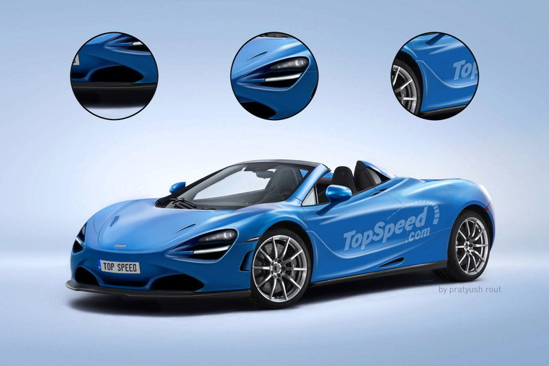 2018 McLaren 720S Interior Exterior Exclusive Renderings Computer Renderings and Photoshop - image 691553