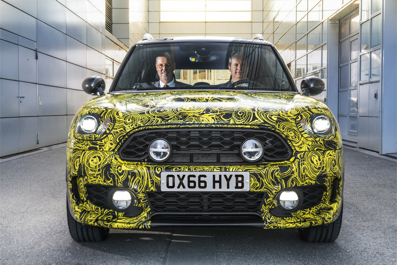 Meet the Mini Countryman E Prototype
