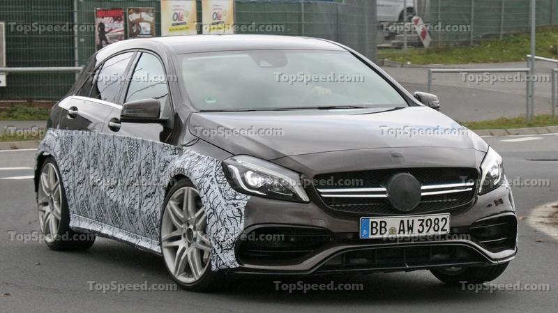 Next Mercedes-AMG A45 Coming With Drift Mode and Over 400 Horsepower