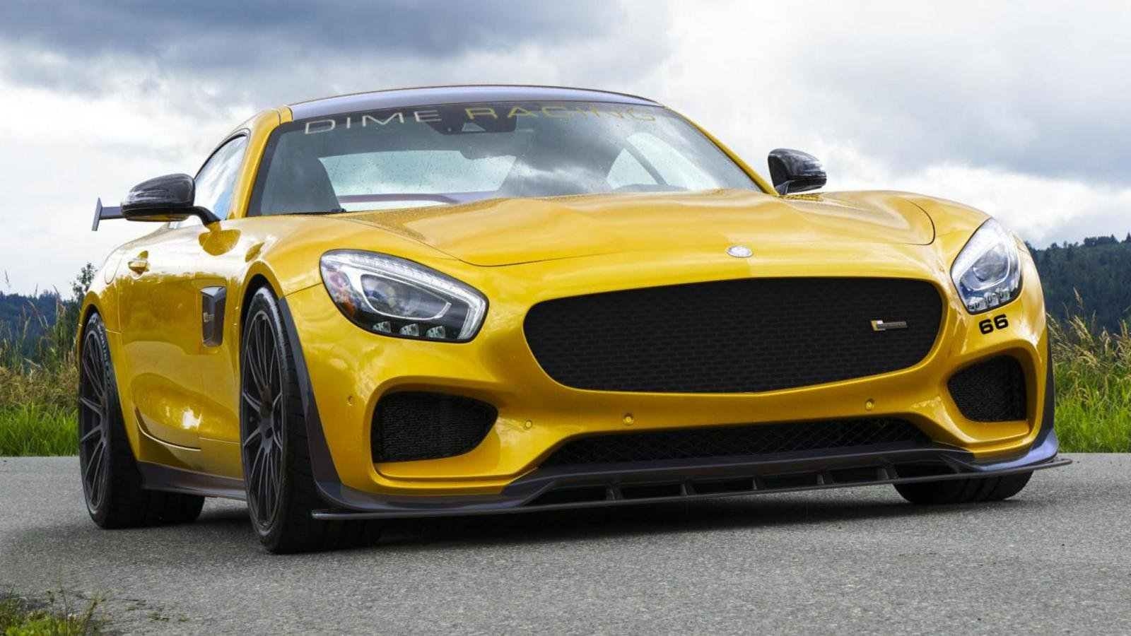 2016 mercedes amg gt by dime racing review top speed. Black Bedroom Furniture Sets. Home Design Ideas