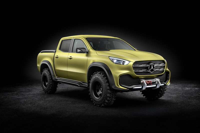 2016 Mercedes-Benz Concept X-Class High Resolution Exterior - image 692828