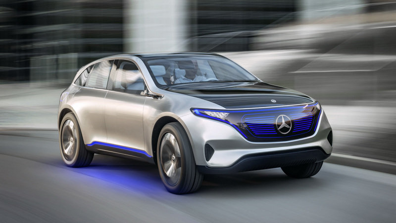 "2016 Mercedes‑Benz ""Generation EQ"" Concept"